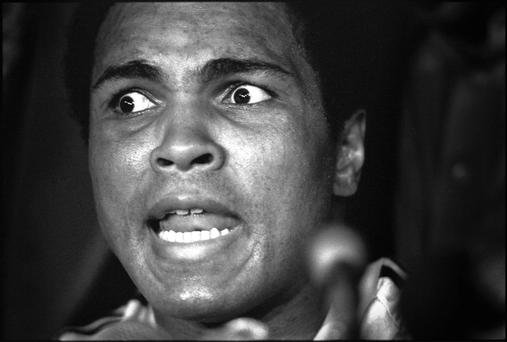 Boxing legend and former three-time heavyweight champ Muhammad Ali who died this week aged 74. He is widely regarded as one of the greatest sports stars who has ever lived