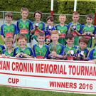 Duarigle Gaels, winners of the Brian Cronin Memorial Cup for U10 Football hosted at Dromtariffe. Picture John Tarrant