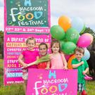 Lucy O' Connell, Freya Riordan, Anna Mehigan and Charlie O'Connell from Macroom, pictured at the launch of Macroom Food Festival 2017 at Macroom Buffalo Cheese Farm, Kilnamartyra