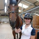 Cork's Madeline Allen and Hi Dude looking for success at the Millstreet International Horse Show. Picture John Tarrant