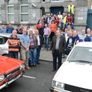 Millstreet Vintage Club members pictured ahead of their Autumn Run to the Farm, Grenagh. Picture: John Tarrant