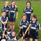 Laochra Óg U10 Camogie team who recently played St Colums