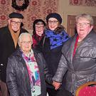 Mick & Mairead Leonard, Eileen Mac Bride, Maureen Deasy and Mary Cronin at the launch of the late Diarmuid O'Connell's CD 'The Songs I Used to Sing (Vol2)' at Macroom's Riverside Park Hotel