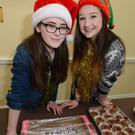 Denise Healy and Ciara Manning thank the public for supporting the Bake Sale in aid of their trip to Lourdes a part of the Irish Pilgrimage Trust. Picture John Tarrant
