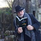 Star of stage and screen Patrick Bergin reading Macroom author Adrienne Acton's 'The Prism and Other Stories'