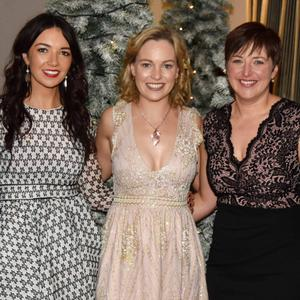 Kieran O'Connell, Orla O'Mahony, Lisa O'Connell, Karen Kelly and Patrick O'Connell were at Charleville Rugby Club's New Year's Eve dinner dance