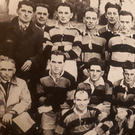 Maxi O'Donoghue (second row, second from the left) in the Newmarket team that won two Duhallow titles, an Examiner Cup and played in a county final between 1948 and 1950