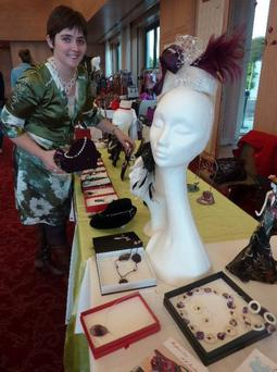 Fermoy-based milliner Ann Flynn, who will be showcasing two of her head pieces at the Great Hat Exhibition in London