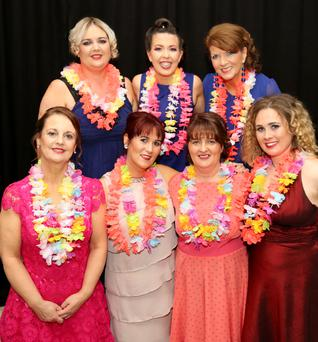 Rosaleen O'Leary, Fiona Hannon, Anne Marie Sheahan, Storm O'Connor, Deirdre Irwin, Catherine Norris and Mary Hickey were among the contestants at Strictly Ballygown