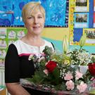 Ballyclough NS principal Mary O'Sullivan retired following a 35-year teaching career. Photos by Sheila Fitzgerald