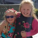 Mallow girl Anna Browne (left) with her devoted sister Emma