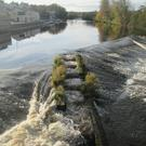 The Fermoy weir and fish-pass