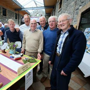 Pat O'Keeffe, Ken Green, Eamonn Hally, William Casey, Jerry Quinn and John O'Leary from the Charleville Men's Shed