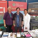 Members of Cork County Council's heritage unit at their stall during last weekend's Cork Summer Show
