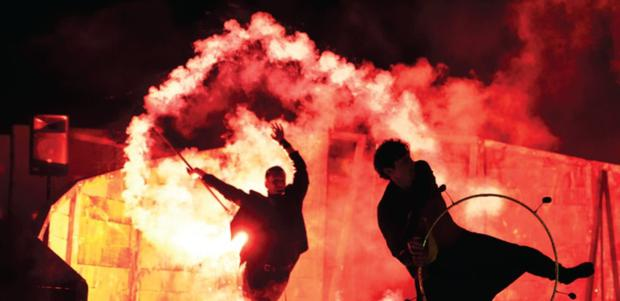 Cork-based Inferno fire-show will bring their spectacular 'Firestorm' show to Mallow Town Park on Saturday night for the official launch of the 2018 Mallow Arts Festival