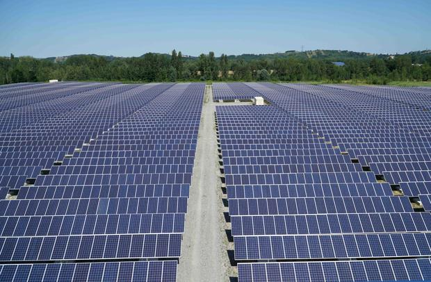 The CEO of Amerenco Solar, John Mullins, has said the first of the company's planned Cork solar farms could be operational by the end of next year