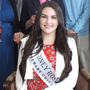 Sydney Rose Caitlin Macinante with guests at a reception held for her during her visit to Mallow on Dorgan PP