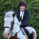 Lyndsey Buckley with her pony, Mohender