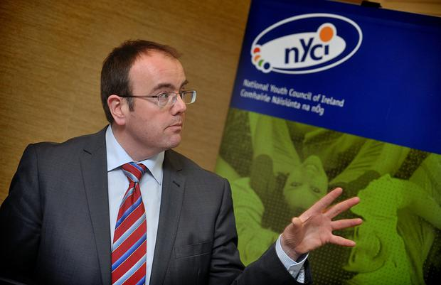 National Youth Council of Ireland deputy director James Doorley.
