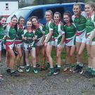 A delighted Macroom's Ladies Football U16s team who won the Cork County U-16 'C' Ladies Football Championship final against Doheny's in Inchigeela on Monday evening