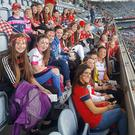 A large group from Macroom LGFC travelled to Croke Park for the 2018 All-Ireland Ladies Football Final last Sunday