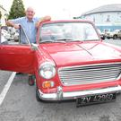 Vincent O'Mahony, Millstreet with his 1967 Morris 1100 to the Millstreet Vintage Car Run. Picture John Tarrant