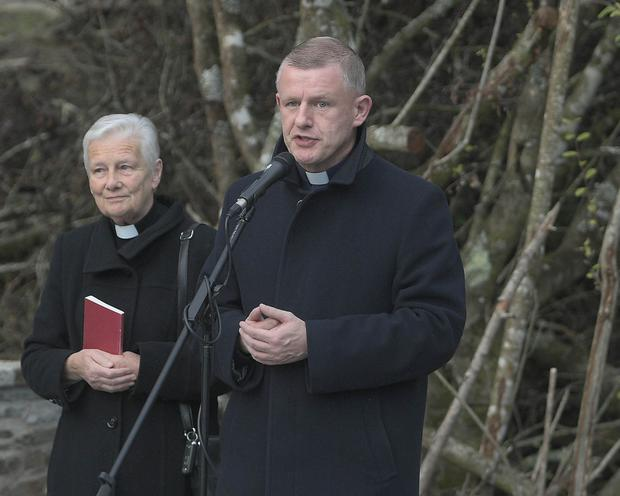 Canon Eithne Lynch, Mallow and Fr Michael Leader
