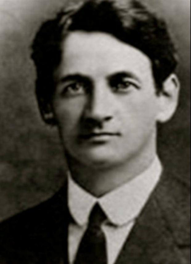 The former Lord Mayor of Cork Terence MacSwiney, whose life and legacy will be celebrated in Kilmurry over the weekend of October 19 to 21
