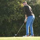 Chris Taylor playing at Druids Heath in Wicklow