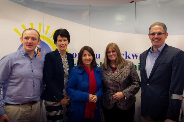 Johnny Sheahan, The Wheel, Valerie Murphy; CEO Avondhu Blackwater; Joan Kelleher, LEO; Caroline Egan, Cramden Tech and Jogn McCarthy, Avondhu Blackwater Partnership.