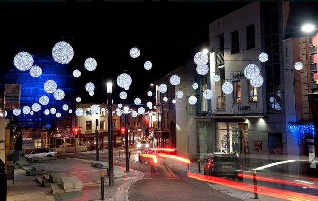 The magnificent Christmas lights in Mallow will be turned on this coming Saturday at the town plaza