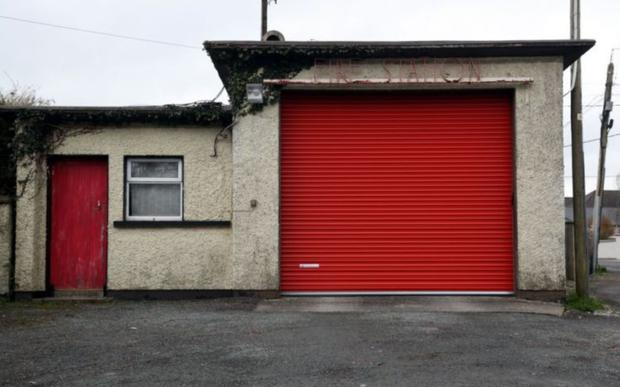 """Cllr Timmy Collins described the existing fire station in Kanturk as """"little more than a garage for the fire tender"""
