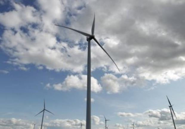 'Eventually the number of wind turbines on land here could reduce, depending on the technology used' Stock photo