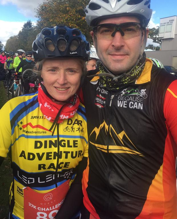 Mick and his wife Jennifer did the Quest Adventure Race in Killarney in October 2018. With a smile, Mick said Jennifer beat him on the day but he completed the 27 km course in 2hr 36 min