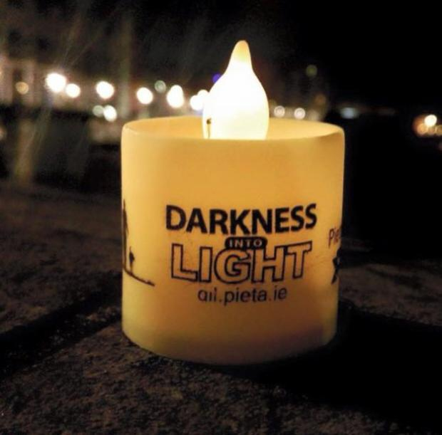 The Darkness into Light event will commence at 4.15am, with people encouraged to walk or run a 5km route, with the dawn start, signifying hope and symbolising the work done by Pieta House