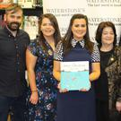 At the launch of 'The Salmon of Knowledge' were (from left) Diarmuid Buckley, Tríona Buckley, Celina Buckley, Mary Buckley, Con Buckley, Maria Buckley and Patrick Buckley