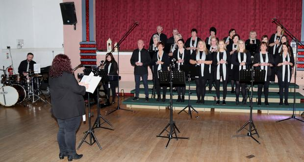 The Lorraine O'Riordan Gospel Choir performed in Concert to a capacity audience at the Edel Quinn Hall, Kanturk, in what was one of the first events in the IRD Duhallow Bealtaine Festival Programme