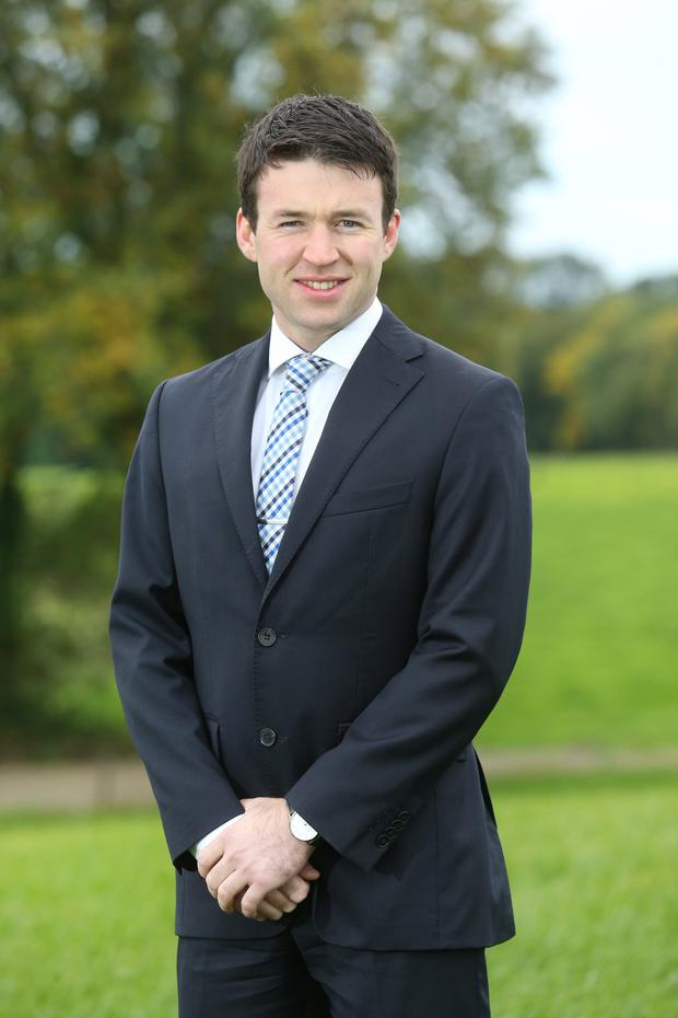 Mallow farmer Niall O'Regan, the recently appointed Agri Relationship Manager with Ulster Bank