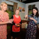 Eileen Cotter, Noreen O'Connell and Mary Cronin will feature in the comedy 'Caught on the Hop' by The Glen Theatre Drama Group at the Everyman Theatre, Banteer