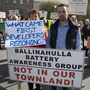 Nora Dennehy and Sean O'Rouke from Ballydesmond. A protest was held at the Kerry County Council offices in Tralee over the Council's decision to give the go-ahead to a battery facility in Ballydesmond. Photoby Dominick Walsh