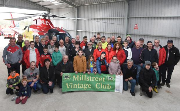 Millstreet Vintage Club looking ahead to the Truck Run in support of the Irish Community Rapid Response Air Ambulance. Picture John Tarrant