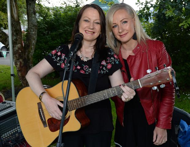 The Diamond Sisters added to a lively atmosphere at the Millstreet Party in the Park last weekend. Photo by JohnTarrant