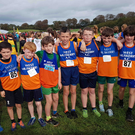 West Muskerry AC Boys U12 team, Ronan O'Neill, Conor Hourihan, Ronan Duggan, Dan Lyons, Conor Nash, Ciaran O'Sullivan, Mark Andrew Dineen, Finn Yore and Rory McElroy, who competed in the County Even Age Cross Country Championship last Sunday in Liscarroll