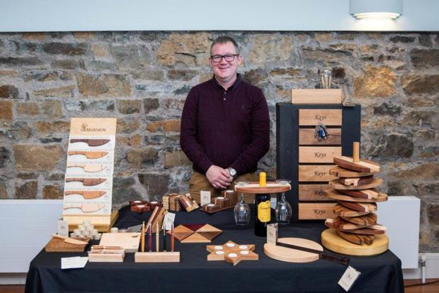 Pat Murphy of Kildorrery based CK53 Designs was among the more than 20 Cork craftspeople and producers at the 'Meet the USA Buyer & Retail Network' event in the Trident Hotel, Kinsale.