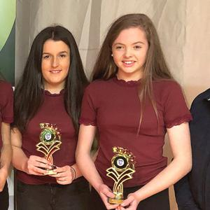 The Freemount Music Group victorious at the Kanturk Credit Union Duhallow Scór na nÓg Finals
