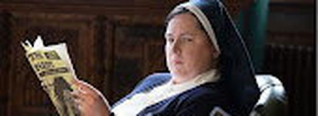 Siobhán McSweeney as Sister Michael in Derry Girls