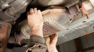 Catalytic converters contain valuable metals and can cost more than €1,500 to replace if stolen