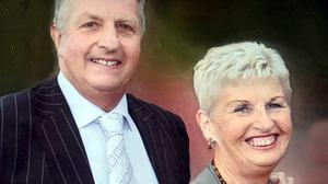 Mary and Nial O' Sullivan's first anniversary Mass will be celebrated this Sunday, March 21, in St. John The Baptist Church Ballyclough at 11.30am and can be viewed live on Churchcamlive/Ballyclough