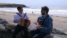 Cork brother Hugh and Eugene Walsh, the duo behind 'Trad Success', a new online musical instrument learning platform