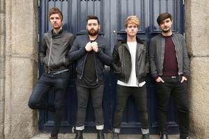 Kodaline at Smock Alley theatre ahead of their 7up unplugged Irish gig.